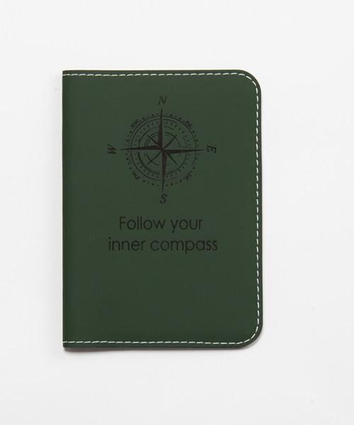etui za putovnicu tamno zelena