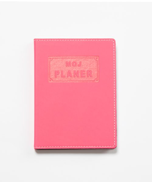 moj planer neon pink