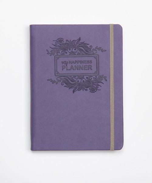 my happiness planner tamno ljubicasta
