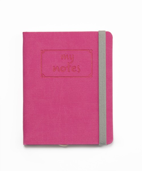 my notes pink
